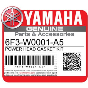 Yamaha Genuine Spare Parts Outboards - 6F3-W0001-A5