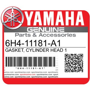 Yamaha Genuine Spare Parts Outboards - 6H4-11181-A1