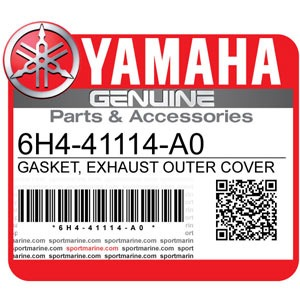 Yamaha Genuine Spare Parts Outboards - 6H4-41114-A0